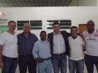 Visita do deputado Roberto de Lucena
