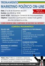 Treinamento de Marketing Político Online